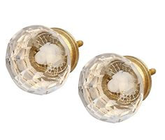 Knobs and Pulls Set of 2 White Round Knob - Modern Knob for Dresser / Cabinets / Cupboard / Chest Handle  Click on this link: http://amzn.to/2g7V9uU