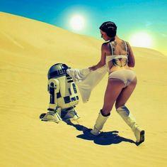 It's hot on Tatooine.