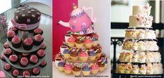 Resultado de imagem para decoração com cupcake