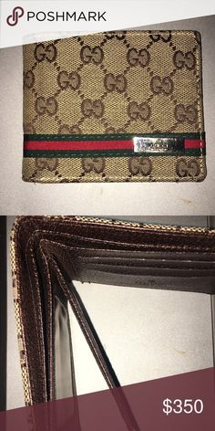 Gucci wallet Authentic Gucci wallet never really used a lot. Gucci Accessories