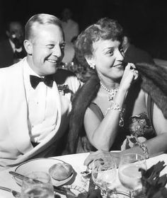 Jeannette MacDonald with husband, Gene Raymond