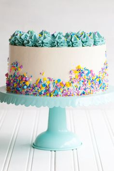 Funfetti Cake from Molly on the Range