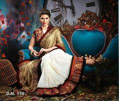 Woman Designer party wear Indian wedding saree vintage bridal bollywood Lehanga