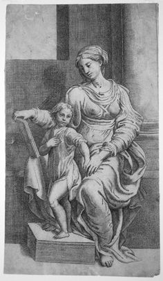 Old Master Drawings and Prints: Parmigianino