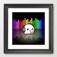 Music Cumi Framed Art Print by goatgames Goat Games, Indie Games, Framed Art Prints, Goats, Music, Musica, Musik, Muziek, Music Activities