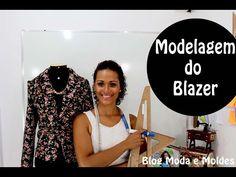 Curso Modelagem Tecido GRÁTIS - Blazer De Alfaiate Feminino - 12/12 - YouTube