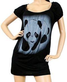 Zenobia Panda Mini Dress