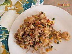 Tofu Fried Rice #glutenfree vegetarianmamma.com