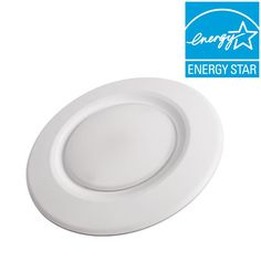 Commercial Electric 4 in. Soft White Recessed LED Can Disk Light-CE-JB4-600L-27K-E26-2 - The Home Depot