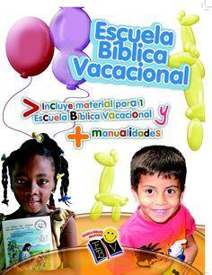 Manual de Escuela Biblica Vacacional Incluye material para 1 Escuela Bíblica Vacacional y manualidades Usted puede descargar el libro electrónico aquí o comprar el libro en la Oficina de los Ministerios de Discipulado MAR.