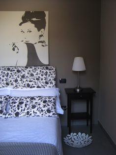 bedside table & Audrey
