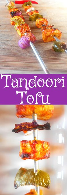 How do you cook Tofu? Blend it in Indian Spices and make Tandoori Tofu Skewers.  This is a healthy snack idea.  Great stuffing idea for a pita sandwich.  Better than Tandoori Paneer.