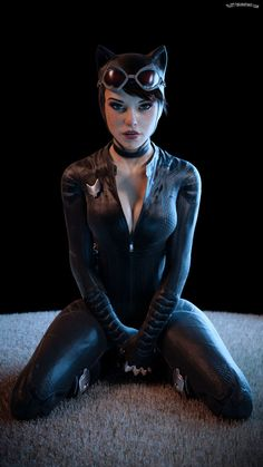 Catwoman by kLuTT on DeviantArt Batgirl, Catwoman Comic, Catwoman Cosplay, Batman And Catwoman, Batwoman, Catwoman Suit, Catwoman Makeup, Batman Robin, Catwoman Selina Kyle