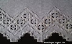 nice edging and filling stitch