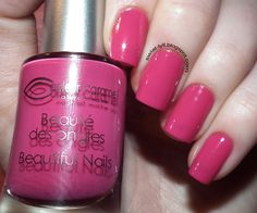 Iliz Beauty: Fuksja w której się zakochałam od Couleur Caramel Mineral Powder, Make Up Collection, Manicure, Nails, Nail Polish, Collections, How To Make, Beauty, Caramel Color