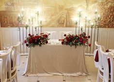 Top Table Flowers, Bride Groom Table, Head Tables, Sweetheart Table, Classic Chic, Red Wedding, Newlyweds, Wedding Ceremony, Marie