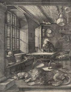 Albrecht DürerSaint_Jerome_in_his_Study