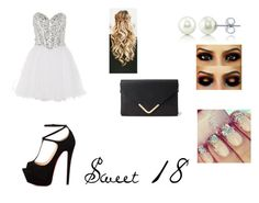 Sweet 18 by miazinhaa on Polyvore featuring Anoushka G, Talitha, Forever 21 and BERRICLE