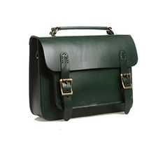 Phonyeer Genuine Leather Womens Cambridge Satchel Tote Ha...