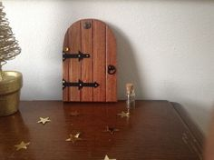 HANDMADE WOODEN SECRET FAIRY/ELF/PIXIE DOOR-COPPER in Collectables, Fantasy/ Myth/ Magic, Mythical Creatures | eBay