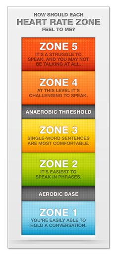 Heart Rate Zones #heartrate #training