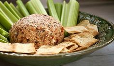 Macadamia Nut and Sun Dried Tomato Cheese Ball