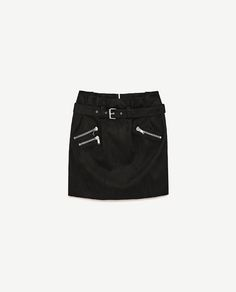 Image 8 of MINI SKIRT WITH ZIPS from Zara