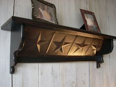 Country Western Star Shelf by Nottooshabbyshelves on Etsy, $65.00