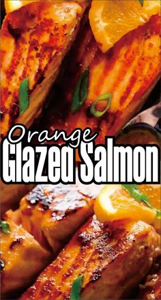 Orange Glazed Salmon How did this one descend nearly? One of my readers wrote in and asked roughly work out artefact succus for citrus humour in this Honey Flavourer Butter River direction and what fl Citrus Salmon Recipe, Grilled Salmon Recipes, Citrus Recipes, Scallop Recipes, Orange Recipes, Fish Recipes, Seafood Recipes, Cooking Recipes, Healthy Recipes