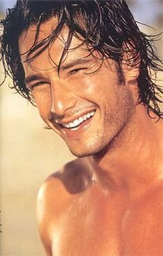 Rodrigo Santoro... My older man crush lol... I'll always remember him as the hot guy in Love Actually lol