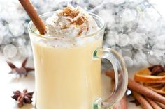 Coquito is the Puerto Rican version of eggnog but made with coconut cream and milk, and rum. Try this Puerto Rican Coquito recipe that's easy to make. Holiday Drinks, Holiday Recipes, Christmas Recipes, Holiday Treats, Holiday Parties, Puerto Rican Coquito Recipe, Ponche Crema Recipe, Yummy Drinks, Yummy Food