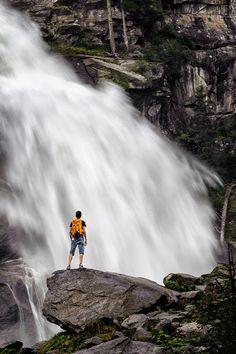 Krimmler waterfalls - Photography by Antonio J. Prado Perez http://ift.tt/1kB8DLC With their impr