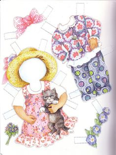 Lena 01* 1500 free paper dolls at artist Arielle Gabriel's International Paper Doll Society also her new memoir The Goddess of Mercy & the Dept of Miracles playing with paper dolls in Montreal *