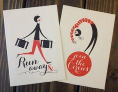 Run away & join the circus - Gocco