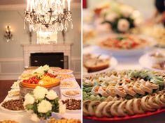 Finger foods! | Whitebox Weddings | The Lovely Find