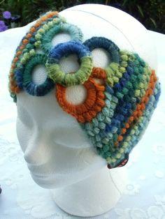 Stirnband / Ohrwärmer /Loop made by mon.ka. 2 in 1  - wärmt den Hals oder die Ohren. http://www.ezebee.com/de/mon-ka/shop