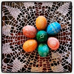 Traditional Lithuanian Easter eggs 2013