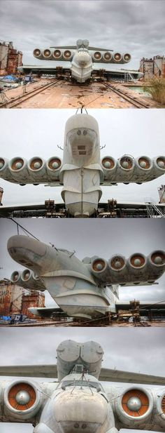 """The Russian Tank-Ship-Plane. This can be seen on GoogleEarth at 42 52' 53.28""""N, 47 39' 25.80""""E. It is still there.2014"""