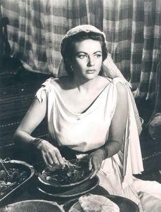 """Yvonne de Carlo in """"The Ten Commandments"""" (1956)"""