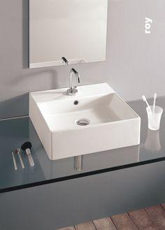 lavabo d'arredo luxor 50x41,5 nero africa | lavabi bagno ... - Lucido Cabinet Grigio Lavandino