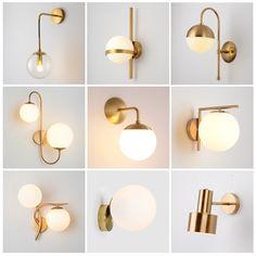 Bedside Wall Lights, Bedside Lighting, Led Wall Lamp, Bedroom Lighting, Cool Lighting, Bubble Lamp, Old Fashioned Decor, Loft Wall, Bedroom Lamps