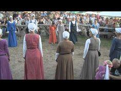 Bratian 2011 Pokazy tańców średniowiecznych - YouTube