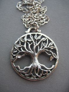 Tree of Life Necklace Tree of Life by SilverTrumpetJewelry