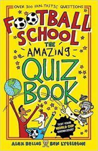 Football School Quiz book cover