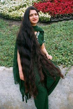 Bun Hairstyles For Long Hair, Braided Hairstyle, Indian Hairstyles, Wig Hairstyles, Beautiful Long Hair, Gorgeous Hair, Indian Long Hair Braid, Super Long Hair, Wild Hair