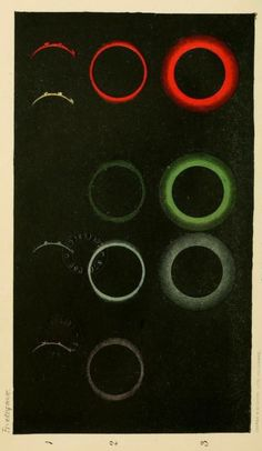 "Frontispiece. ""The corona of the eclipsed Sun. 1871."" Contribution to solar physics. 1874."