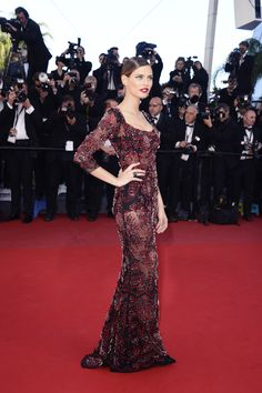 Fabulous pose from Bianca Balti at Cannes 2013