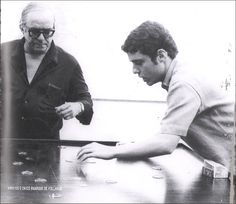 Vinicius de Moraes e Chico Buarque