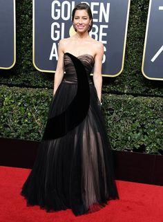 Jessica Biel aux Golden Globes 2018