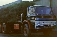 Vintage Trucks Founder, Eddie Stobart, goes into business as an agricultural contractor in the isolated Lake District village of Hesket Newmarket, Cumbria. Vintage Trucks, Retro Vintage, Vintage Designs, London Southend Airport, Eddie Stobart Trucks, Old Lorries, Classic Chevy Trucks, Cars And Motorcycles, Lake District